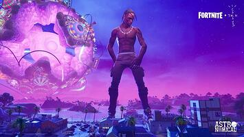 Travis Scott_Fortnite