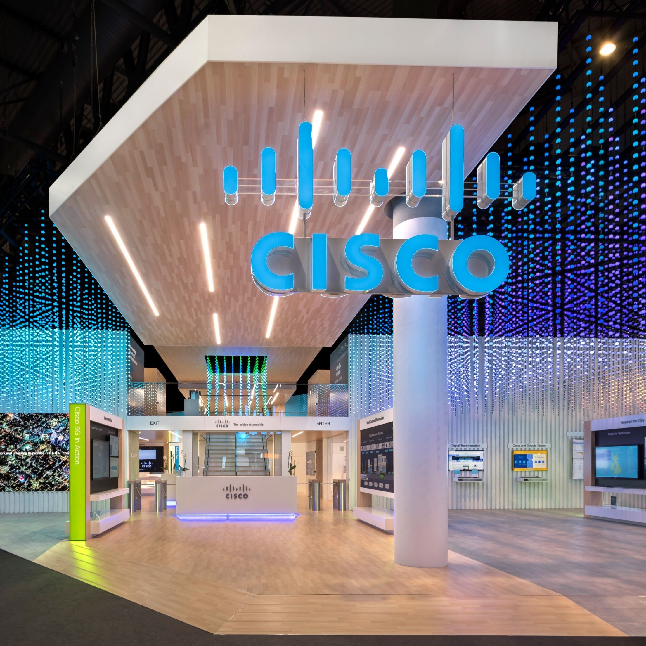 Cisco Systems, Double-Deck Exhibit