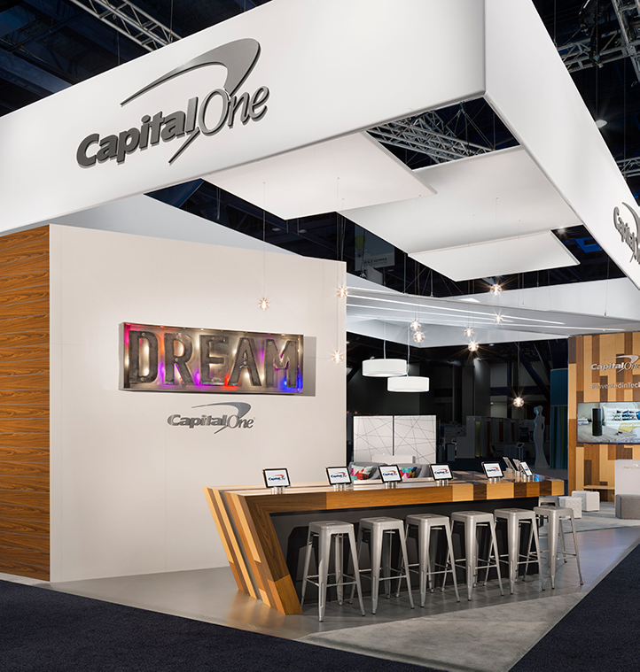 Capital One: Inspirational Exhibit Design