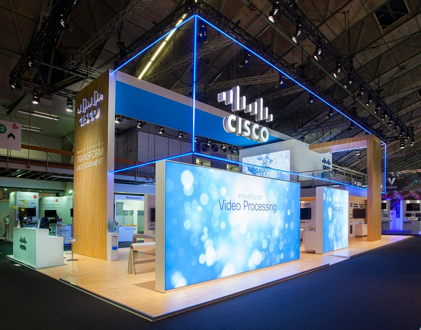 Cisco: International Trade Show Exhibit Design